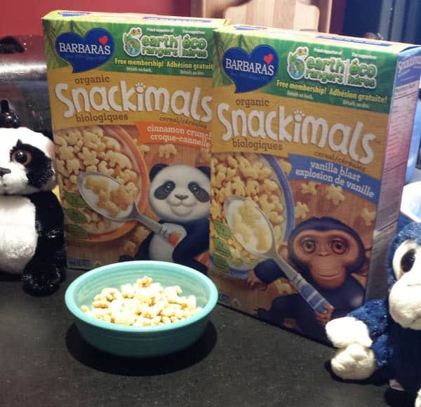 Barbara Snackimals Cereal Breakfast