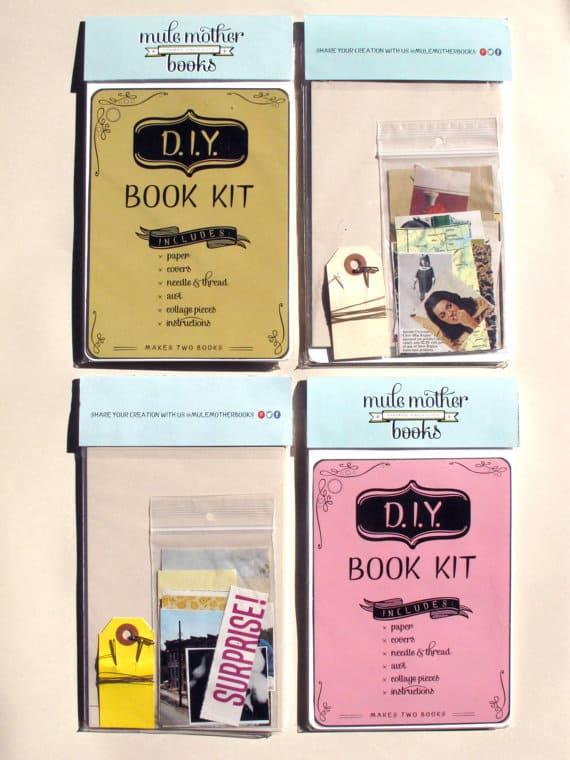 Etsy Canada DIY Kits Handbound Book