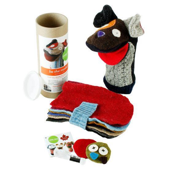 Etsy Canada DIY Kits Unicorn Puppet