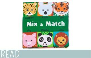 Kids Book Review Melissa Doug Mix Match
