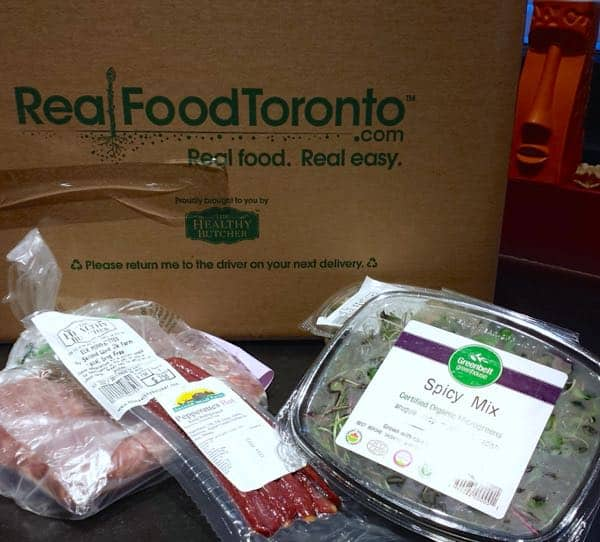 Real Food Toronto Delivery