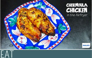 Airfryer Chermoula Chicken Recipe