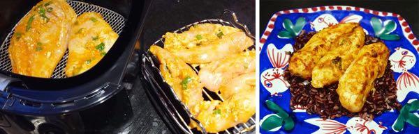Airfryer Chermoula Chicken strips Recipe