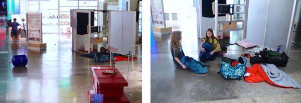 Ontario Science Centre Sleepover Sleepspace2