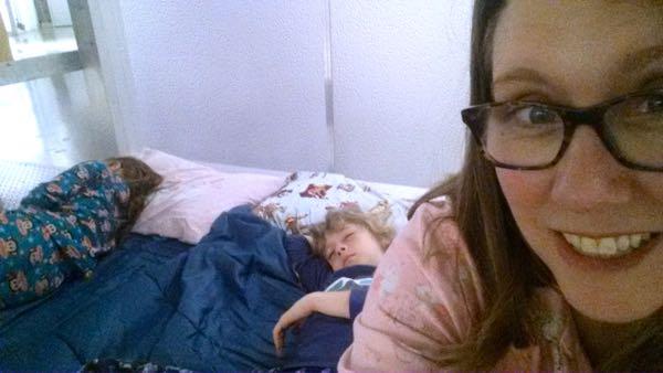 Ontario Science Centre Sleepover sleeping
