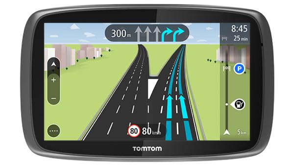 TomTom GO500 Review Device