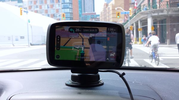 TomTom GO500 Review Lane Directions