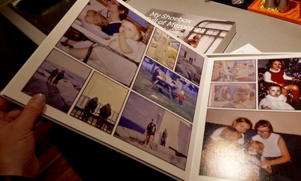 Blacks Shoebox Photo Book