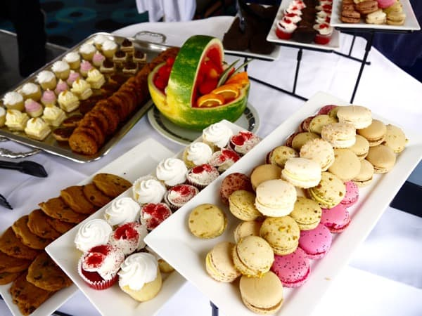 Family Travel Mariposa Cruise Brunch Desserts (1)