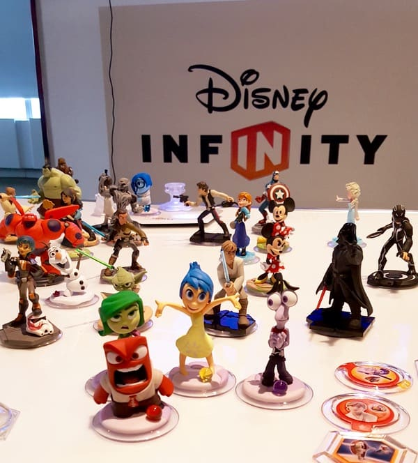 Family Game Time Disney Infinity 3 Characters