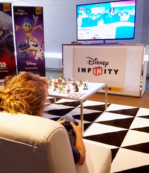 Family Game Time Disney Infinity 3 Star Wars