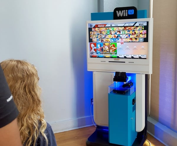 Family Game Time Nintendo Smash Brothers