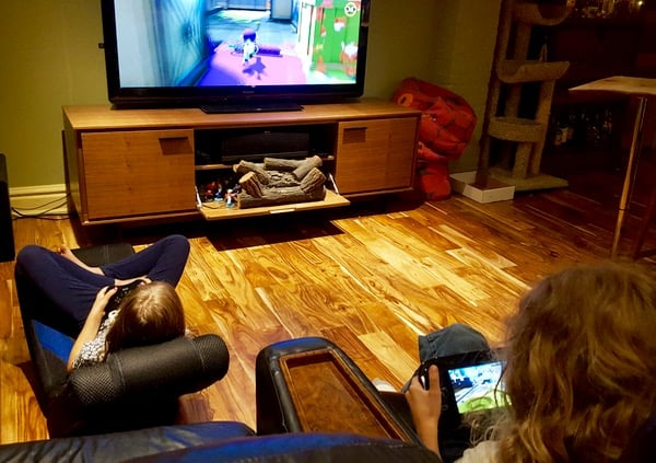 Family Game Time Splatoon Review Game Play