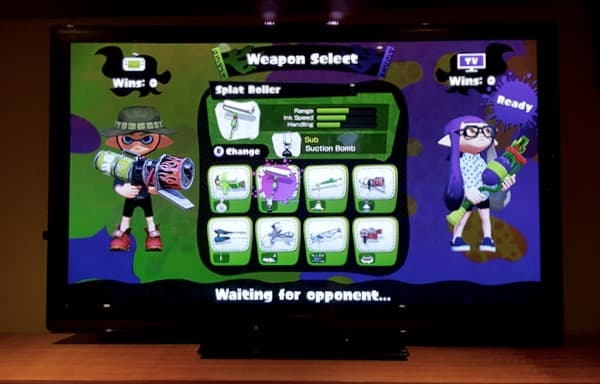 Family Game Time Splatoon Review One on One