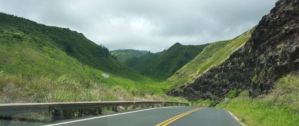 Family Travel Hawaii Maui Kahekill Highway6
