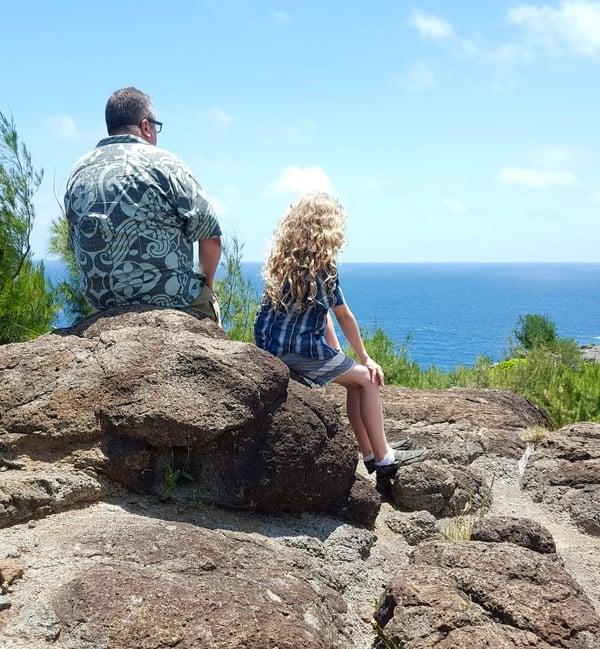 Family Travel Hawaii Maui Kahekill Highway7