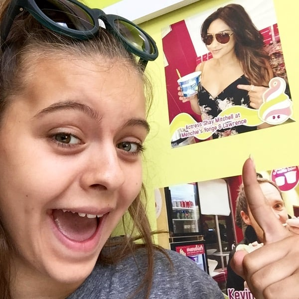 Giveaway Menchies Canada Celebrity Sighting