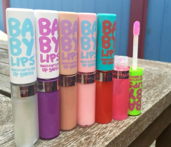 Wednesday Style File Baby Lips New Glosses