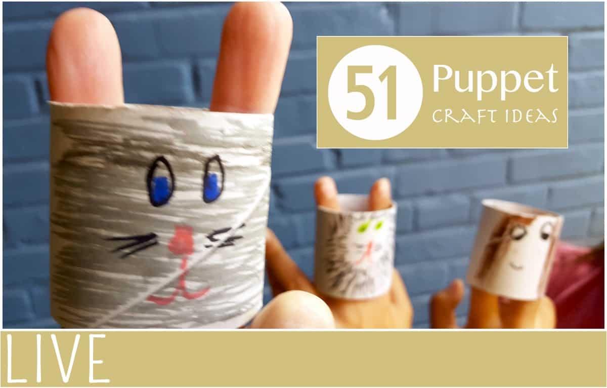 51 puppet craft ideas   everythingmom