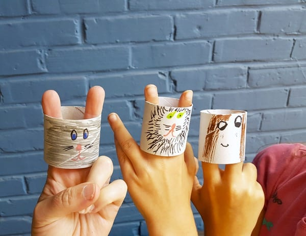 51 Puppet Craft Ideas Toilet Paper Puppets