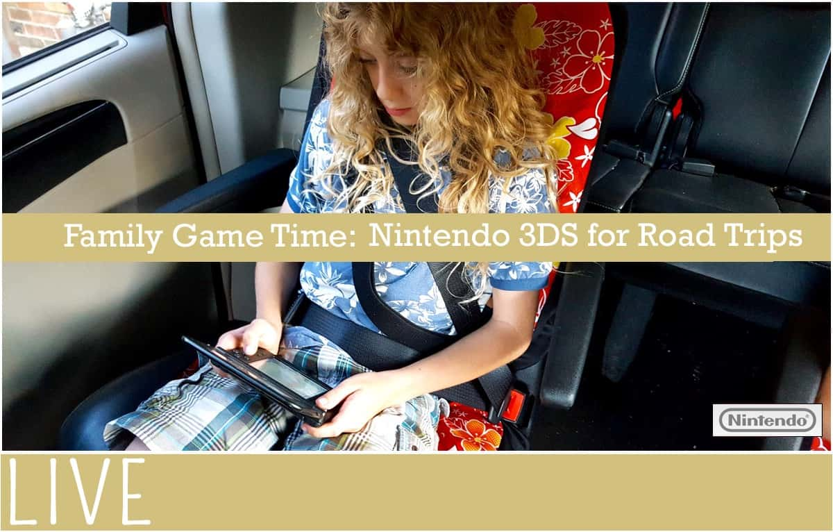 Family Game Time Road Trip 3DS Nintendo