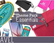 Family Travel Gear Theme Park Essentials