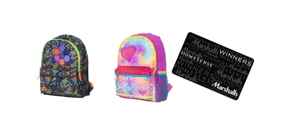 Marshalls Canada Back to School Giveaway Prize