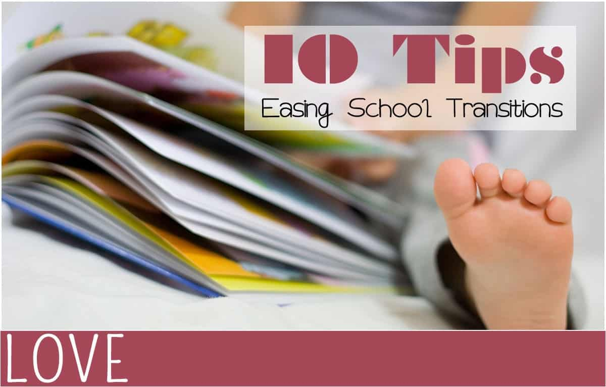 Parenting Easing Back to School Transitions for Kids