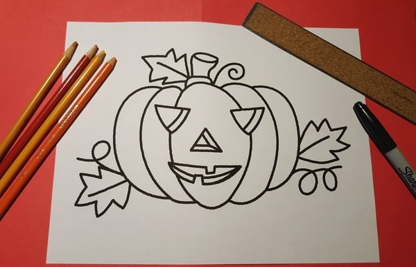 Halloween-Pumpkin-Mosaic-Colouring-Craft1