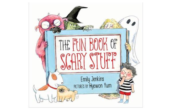 Kids Book Review Halloween Fun Book Scary Stuff (1)