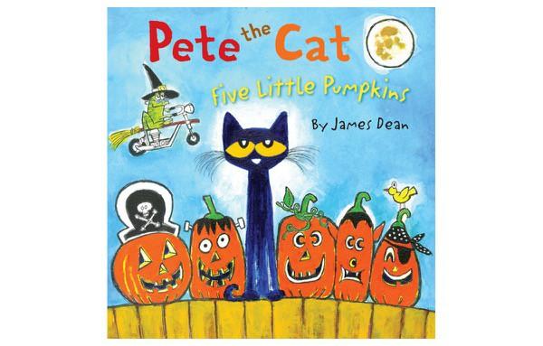 Kids-Book-Review-Halloween-Pete-Cat-5-Little-Pumpkins