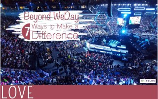 teamTELUS-WeDay-Take-Action-