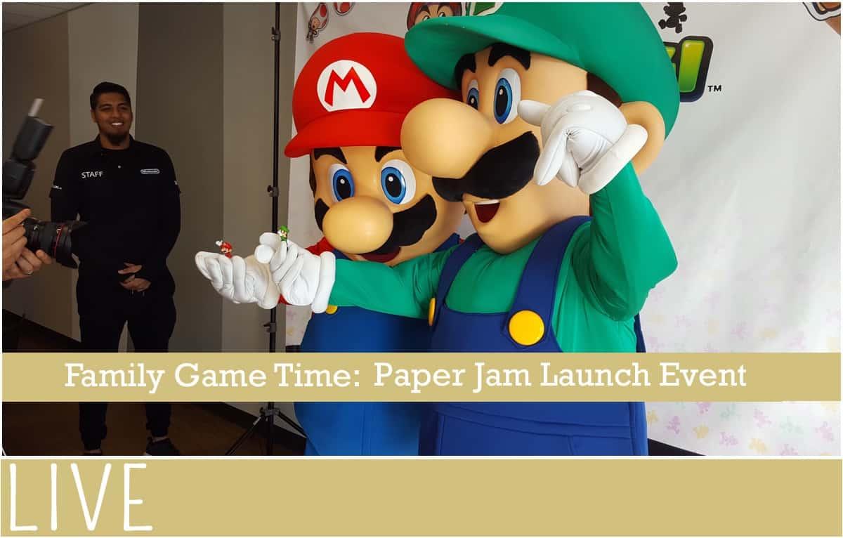 Family-Game-Time-Nintendo-Mario-Luigi-Paper-Jam-Event-Launch