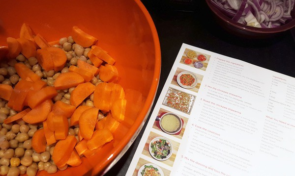 Chefs Plate Cooking with Kids Meatless Meal