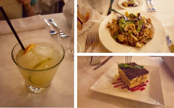 Family-Travel-Pasadena-California-Dining-Cafe-Santorini-Dinner