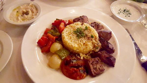Family-Travel-Pasadena-California-Dining-Cafe-Santorini-Kabob-Plate