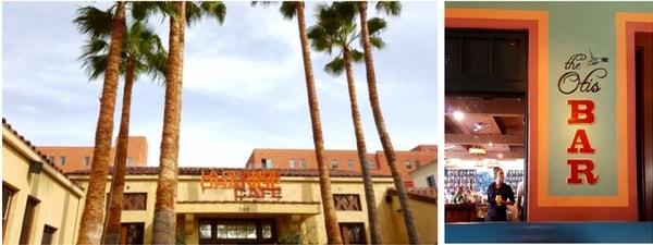 Family-Travel-Pasadena-California-La-Grand-Orange-Cafe-Signage