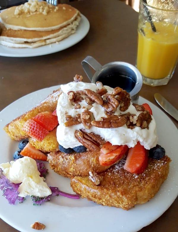 Family-Travel-Pasadena-California-Marstons-Corn-Flake-French-Toast