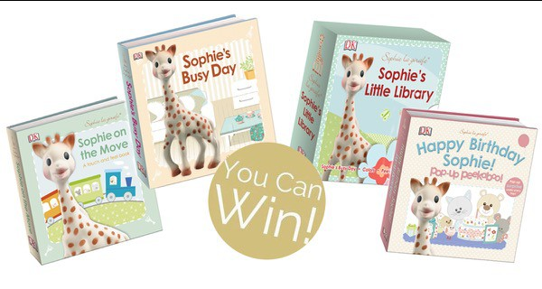 Sophie-Girafe-Birthday-Book-Giveaway-Prize