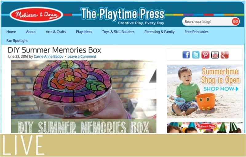 Melissa Doug Summer Memory Box Post (1)