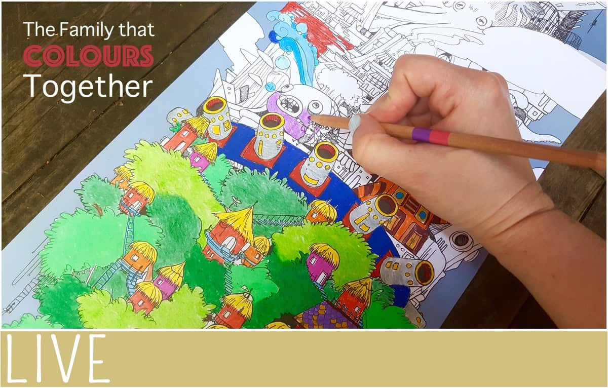 Family-Coloring-To-the-Moon-Colouring-Together