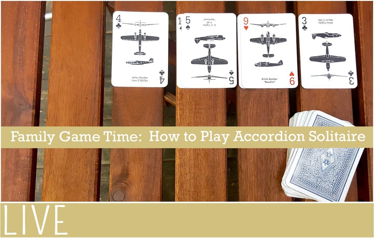 How to Play Solitaire Card Game Accordion