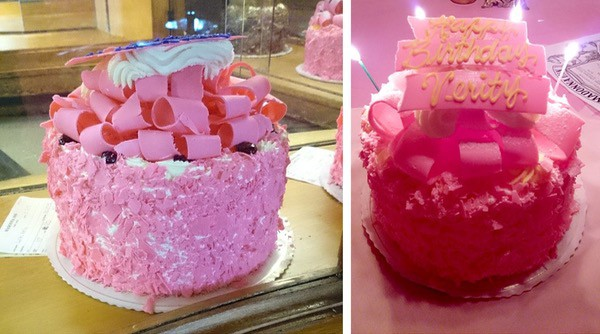 Family-Travel-California-Madonna-Inn-Champaign-Cake