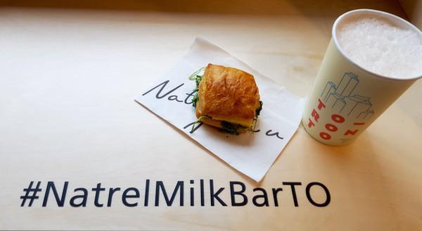 Family Travel Natrel Milk Bar Toronto Breakfast