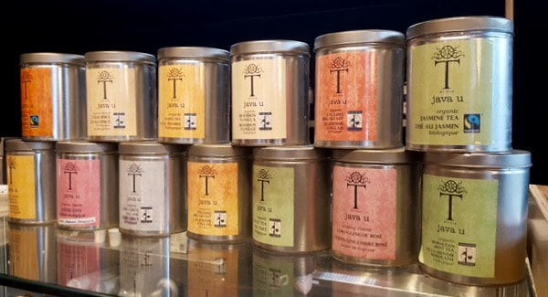 Family Travel Natrel Milk Bar Toronto Tea
