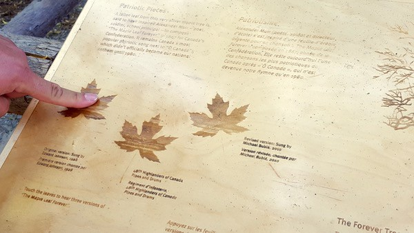 Family-Travel-Ontario-Science-Centre-Maple-Leaf-Forever