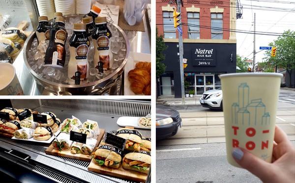 family travel Natrel Milk Bar Toronto Food