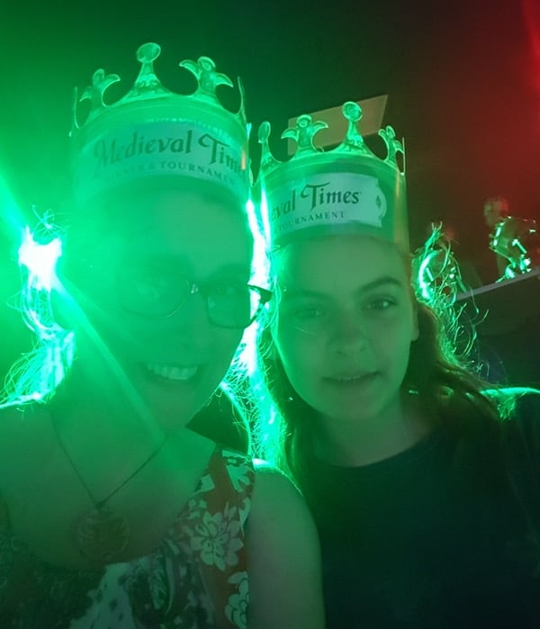 Family Travel Medieval Times Toronto Crowns