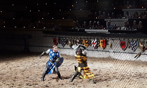 Family Travel Medieval Times Toronto Sword Fight