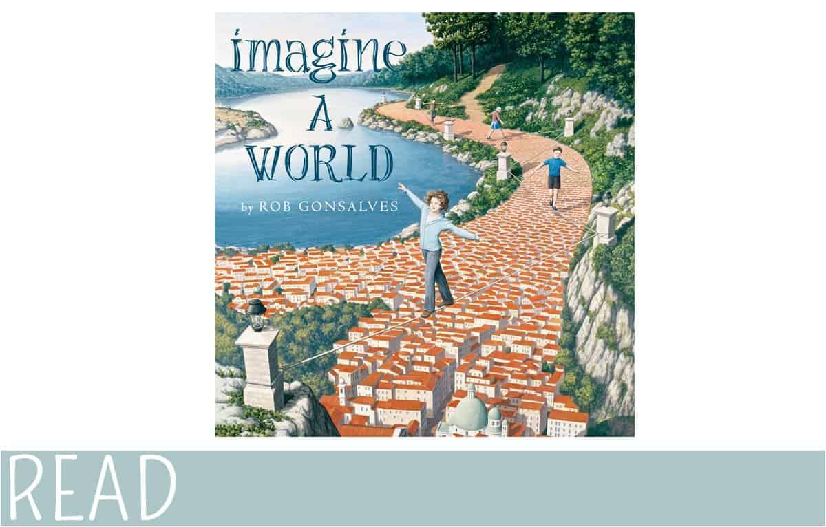 kids Book Review Imagine a World cover art